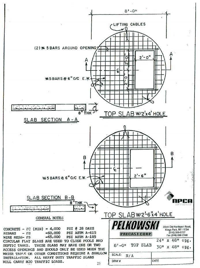 Circular Slabs Pelkowski Precast
